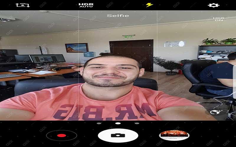 Selfie-flash