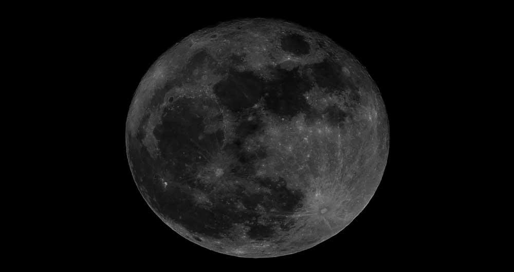 مشاهده پدیده نادر ماه سیاه در نیمکره غربی