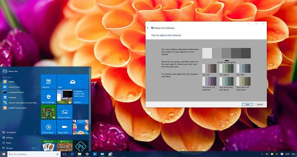 چگونه صفحه نمایش کامپیوتر خود را در ویندوز ۱۰ کالیبره کنیم؟
