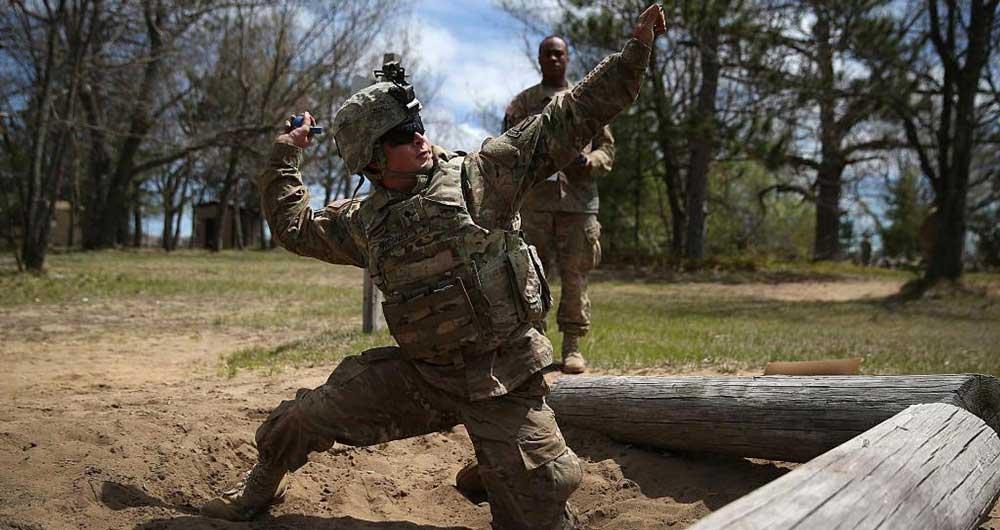 استفاده از نسل جدید نارنجک در ارتش آمریکا