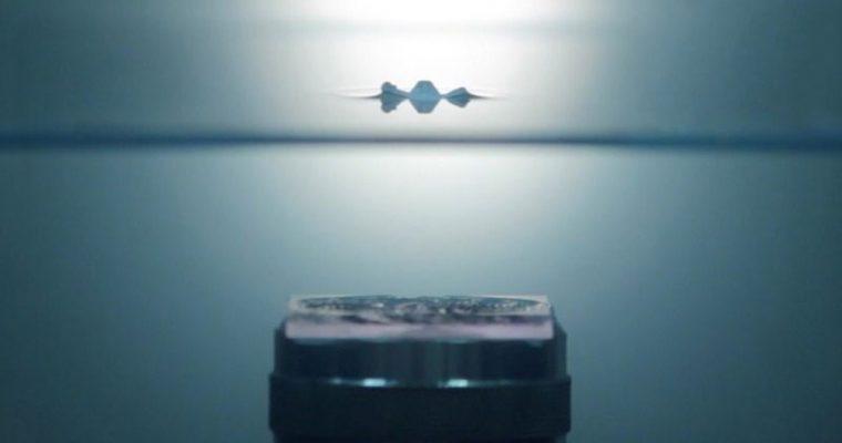 هولوگرام صوتی در محیط آب