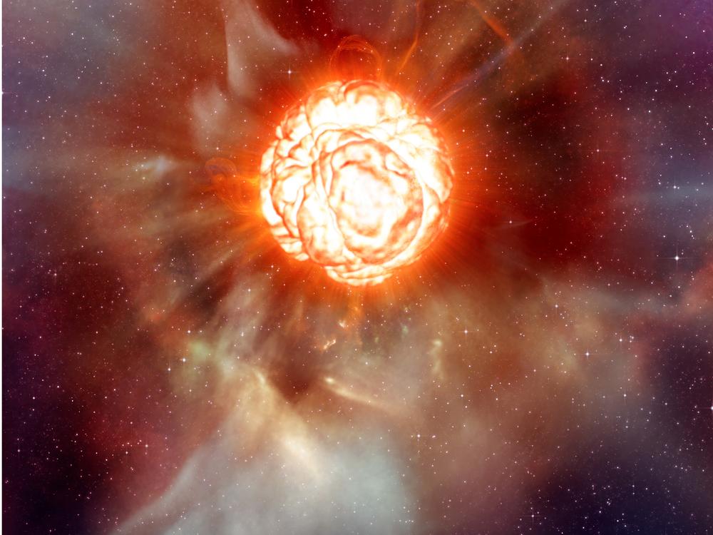 تبدیل خورشید به یک ابر ستاره سرخ