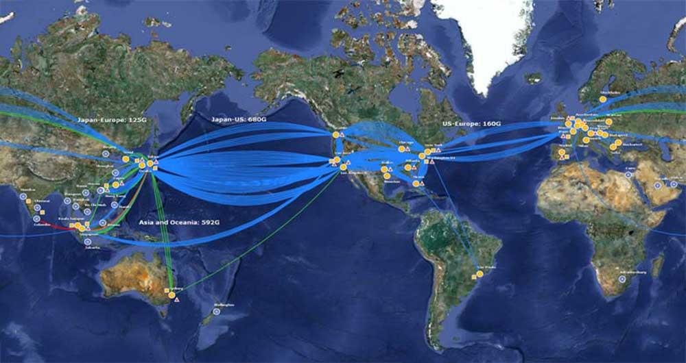 ایران به دنبال انتقال اینترنت از شرق به غرب است