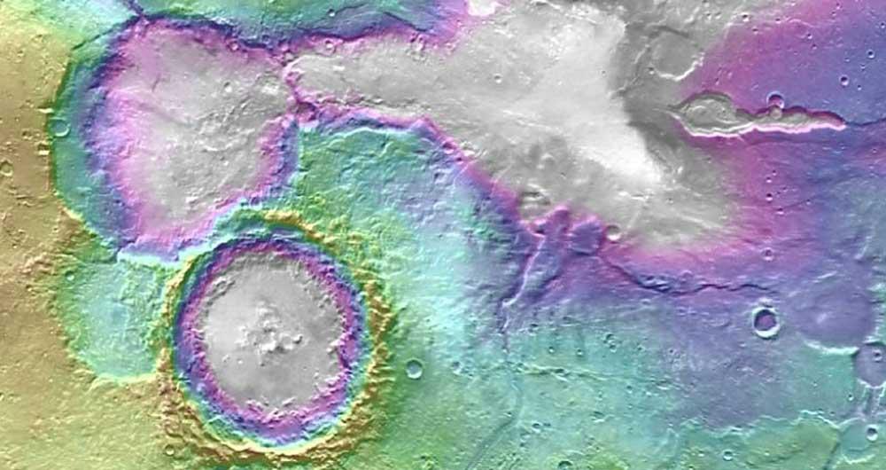 اشتباه کارشناسان در تخمین وجود آب در مریخ