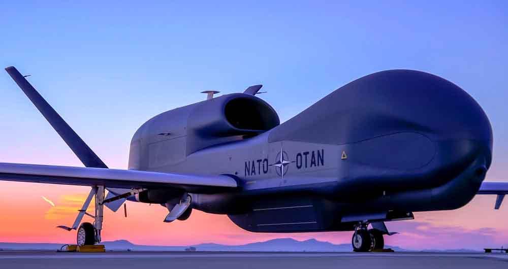 تماشا کنید؛ ویدئوی هیجان انگیز از آخرین فناوری پهپاد در صنایع نظامی