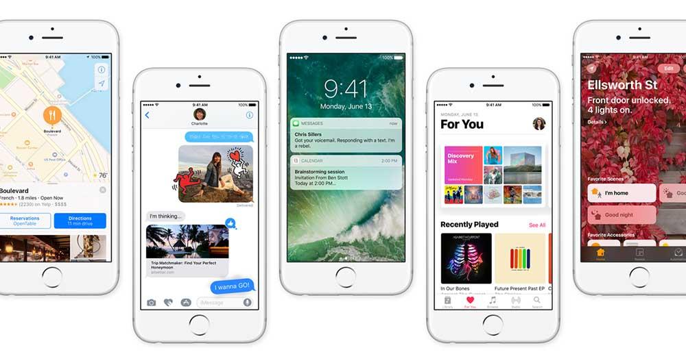 5 ویژگی برتر iOS 10