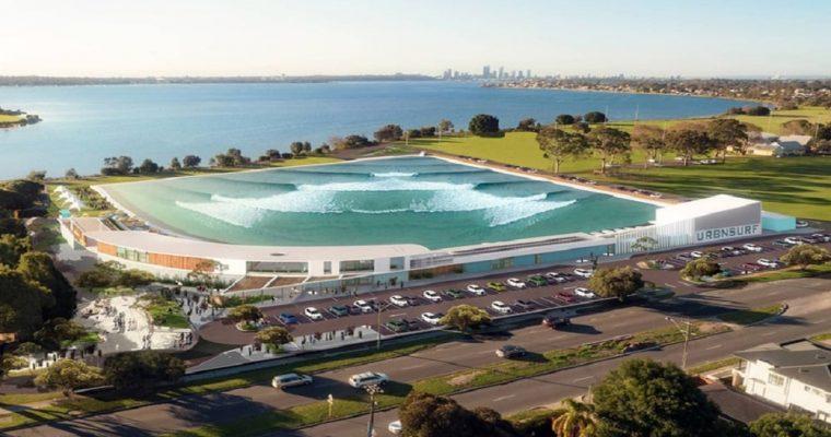 ساخت استخر موج مصنوعی در استرالیا