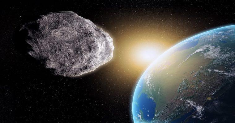 رویت یک شهاب سنگ دو روز پیش از عبور از نزدیکی زمین