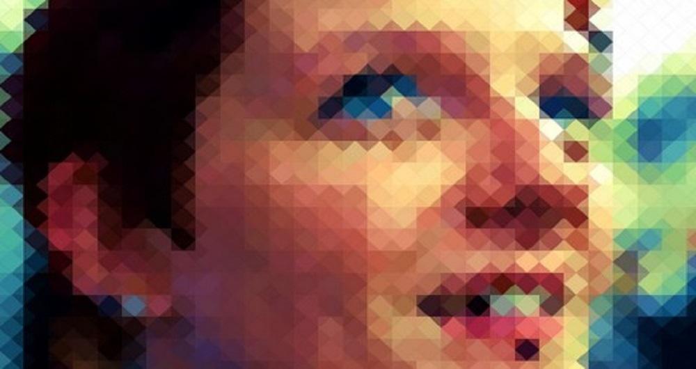 pixelated image