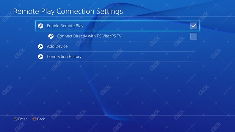 remote play settings