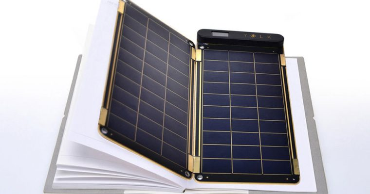 شارژر خورشیدی بسیار نازک تاشو