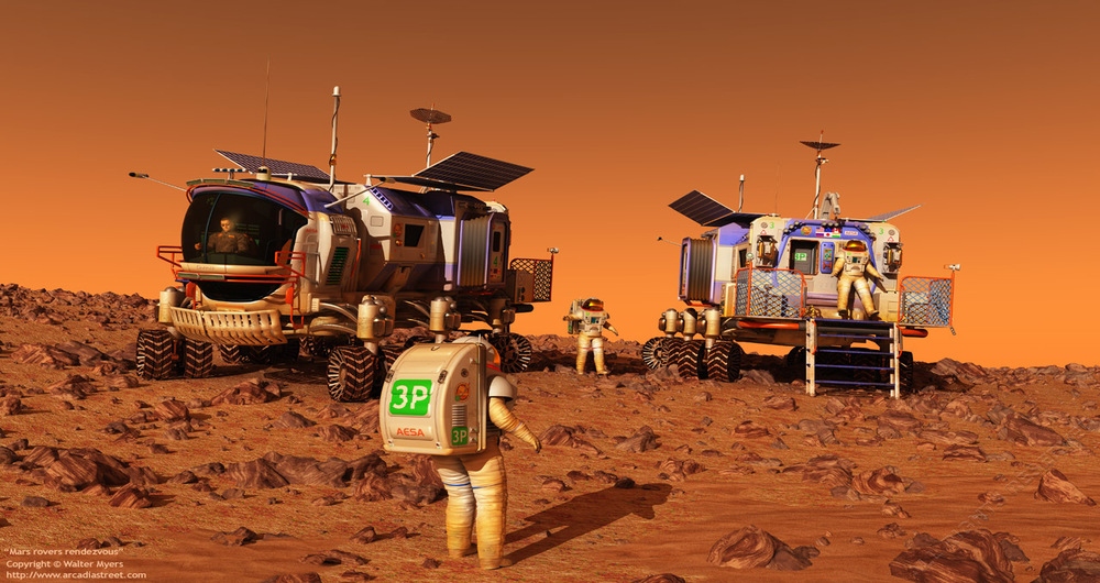 mars passengers