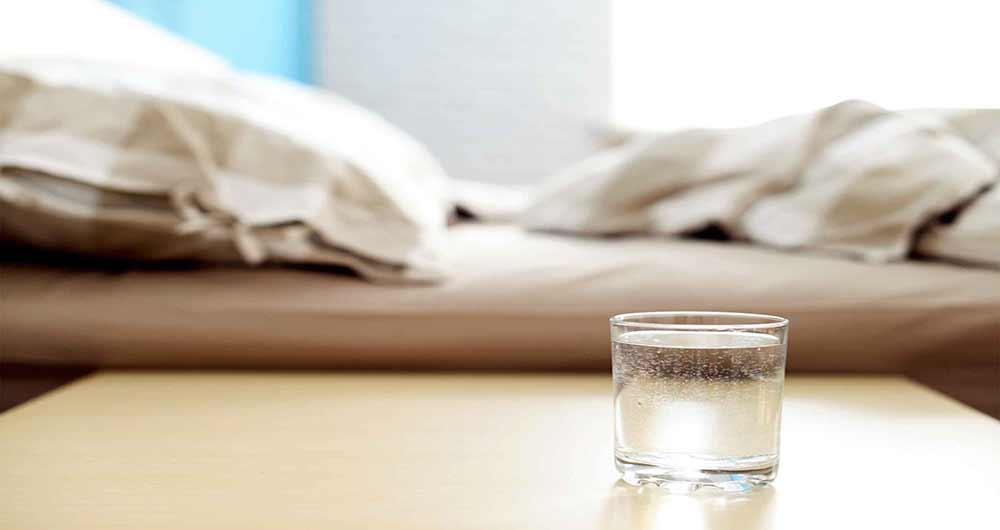 تشنگی قبل از خواب