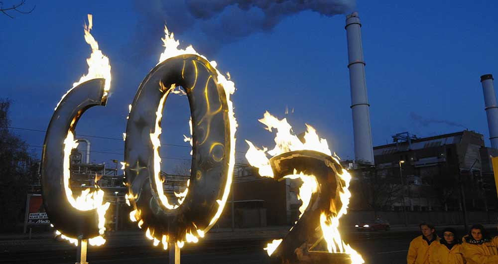 تبدیل گاز دی اکسید کربن به گاز اتانول