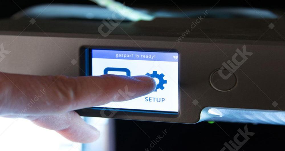 تصویر مربوط به پرینترهای دارای صفحه نمایش