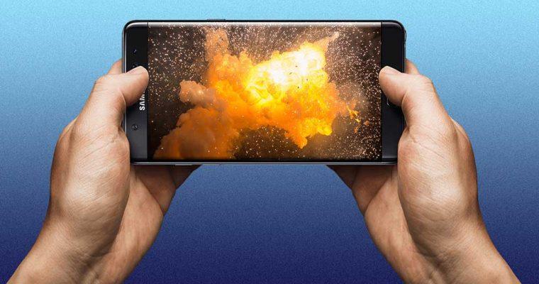 انفجار گلکسی نوت 7
