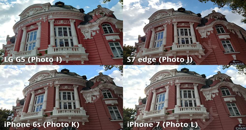 مقایسه جامع دوربین گوشیهای هوشمند LG G5،iPhone 6s،iPhone 7 و Samsung S7 edge