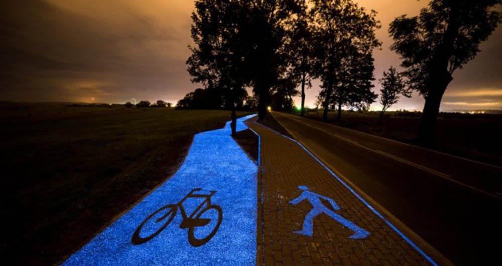 پیست دوچرخه سواری جذاب شهر Lidzbark Warminski