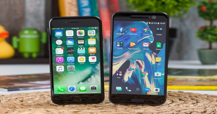 مقایسه همهجانبه آیفون 7 و HTC 10