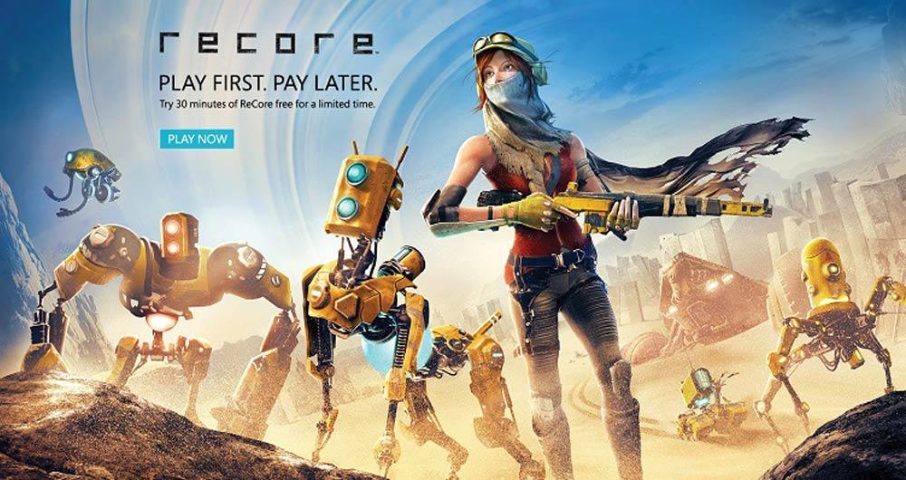 ReCore را به مدت ۳۰ دقیقه رایگان بازی کنید!
