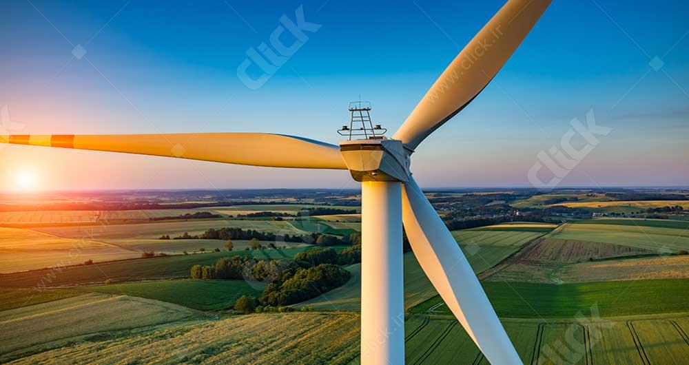 wind-turbine-at-sunset