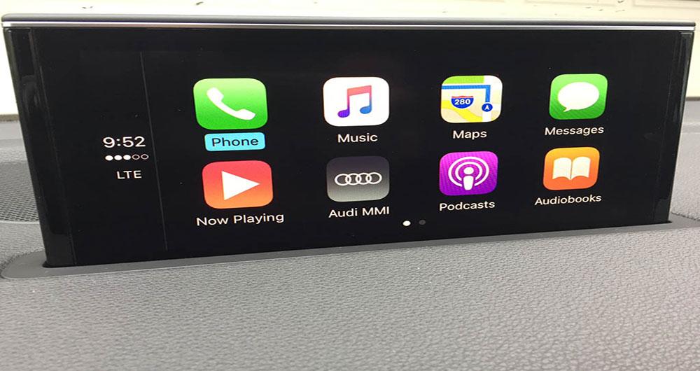 ارائه سیستم اپل کارپلی بیسیم BMW