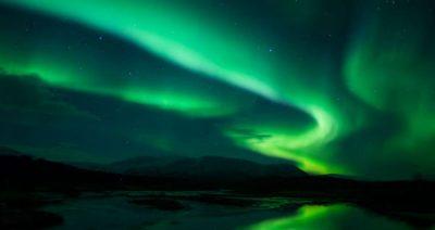 شفق زیبای قطبی