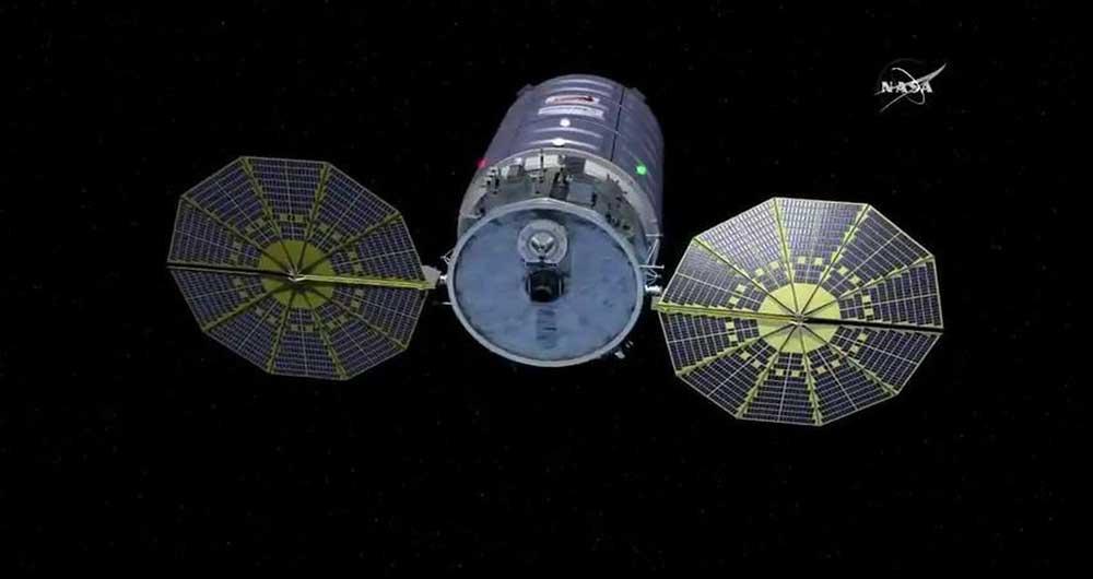 ماموریت فضاپیمای سیگنوس آتش زدن فضا است..
