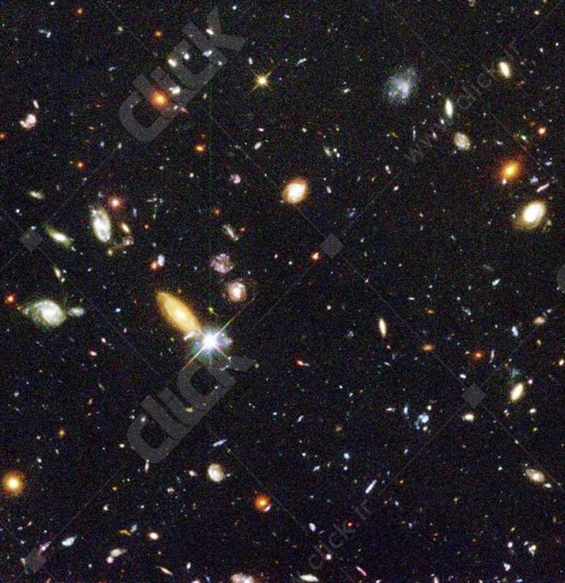 عکس اعماق فضای هابل