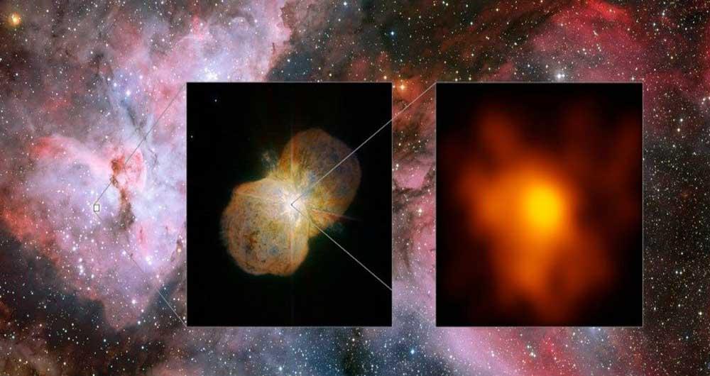 تصویر باکیفیت از خشنترین ستاره راه شیری