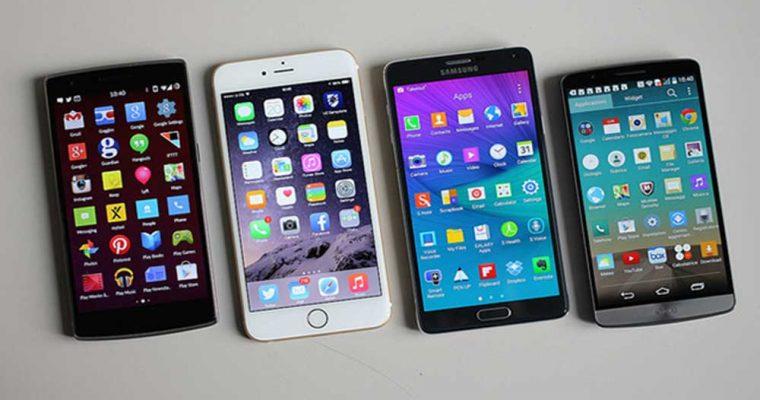 انواع مختلف صفحه نمایش های گوشی