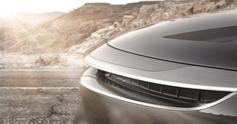 Here's your first look at Lucid Motors' 900-horsepower, 300-mile Tesla fighter