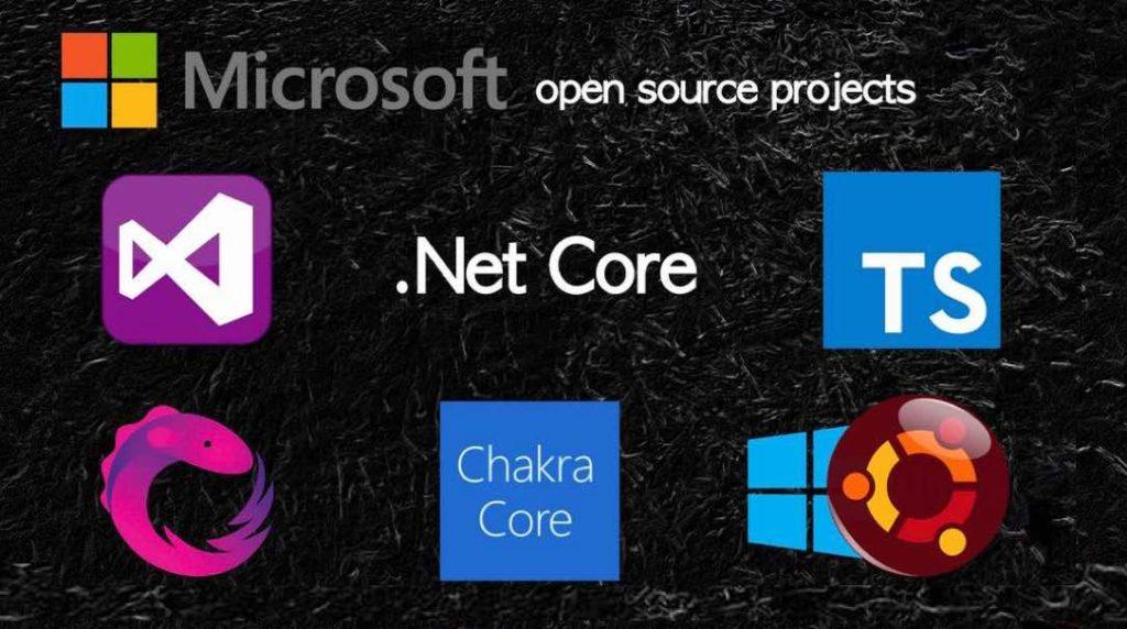 پروژه های منبع باز مایکروسافت