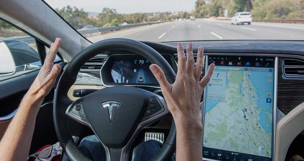 فناوری autopilot tesla