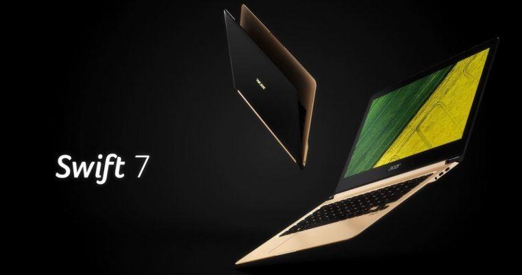 باریک ترین لپ تاپ جهان