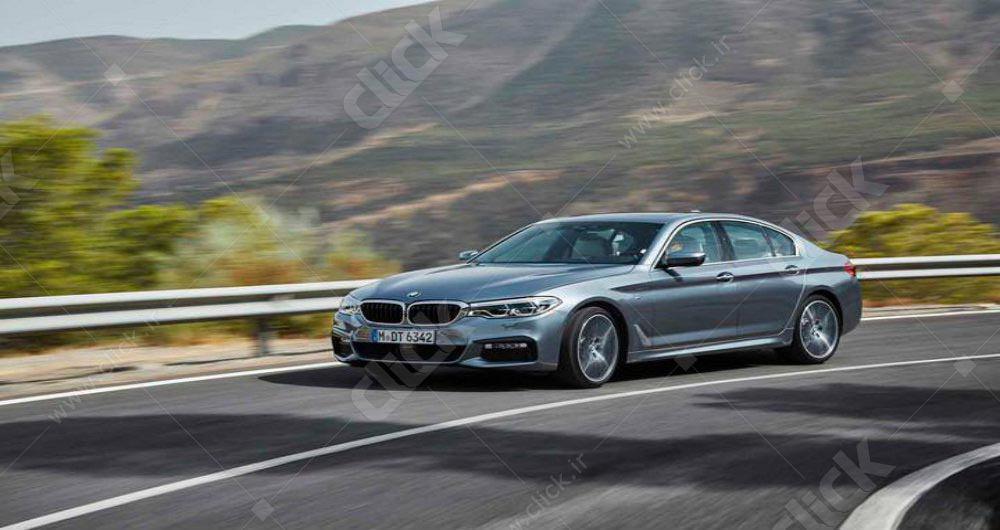 نیمرخ BMW سری 5