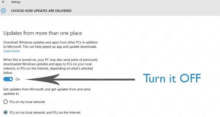 prevent the loss of volume internet 4