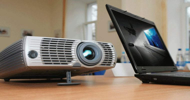 connect video projector