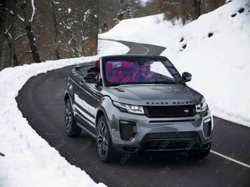 range rover convertebale
