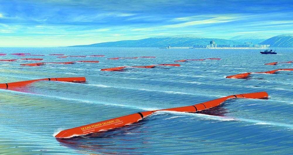 انرژی امواج دریا