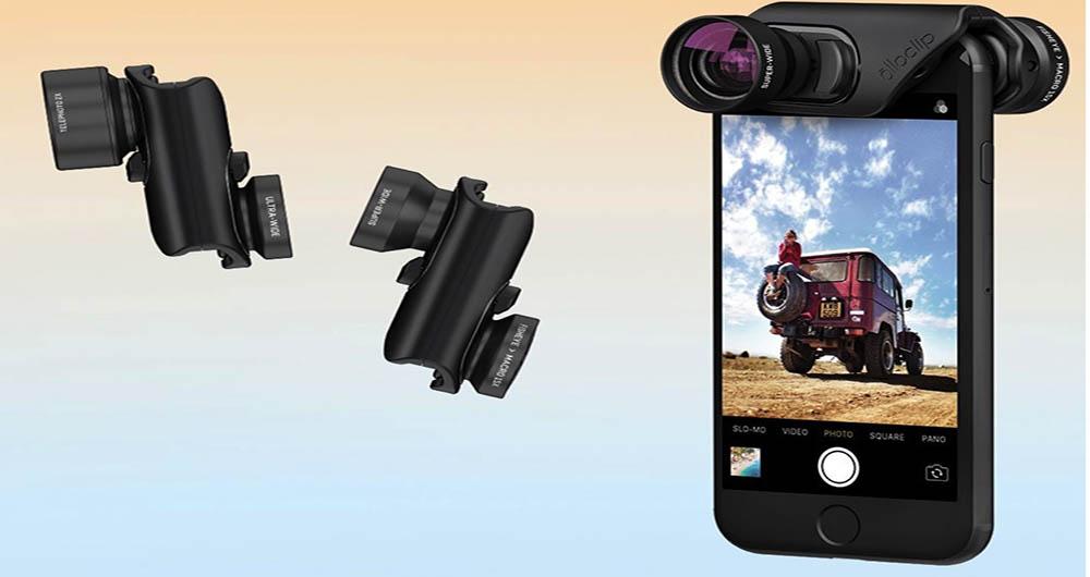 لنزهای جدید اولوکلیپ برای آیفون 7 و آیفون 7 پلاس