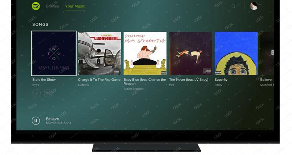 نرم افزار محبوب Spotify در پلی استیشن 4