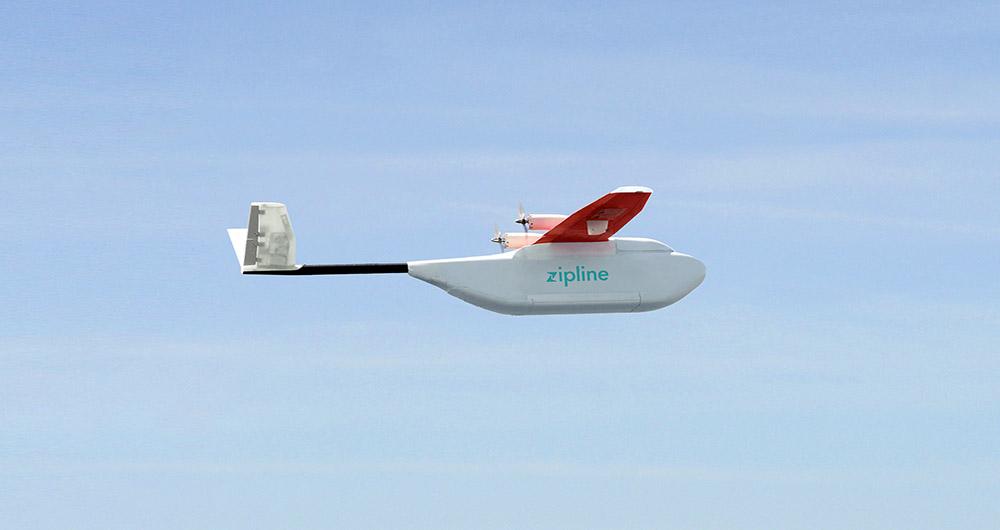 استفاده از فناوری هواپیمای بدون سرنشین برای انتقال خون در افریقا