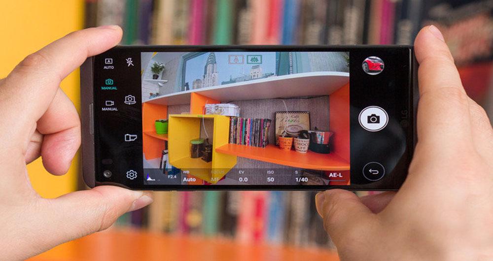 چگونه با دوربین LG V20 عکسهای خوبی بگیریم؟