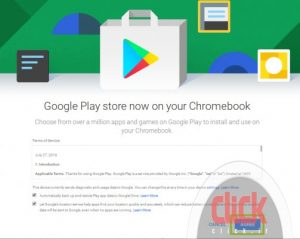 How Android apps and Google Play in Chromebooks use