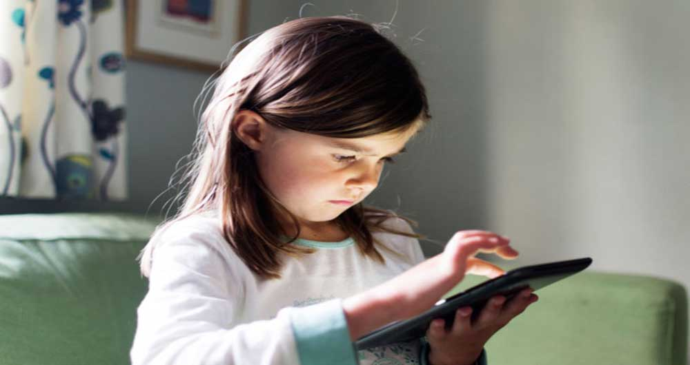 استفاده کودکان از وسایل دیجیتالی