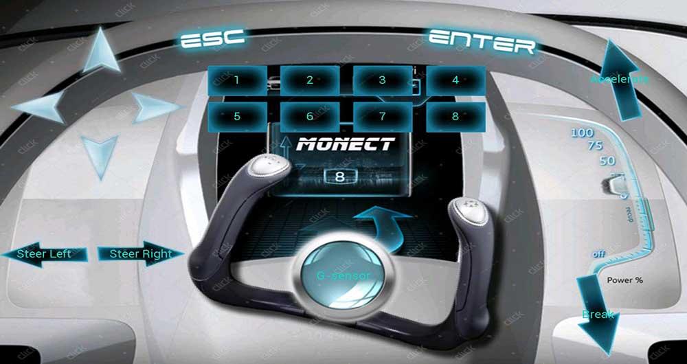 تبدیل گوشی به دسته بازی کامپیوتر با Monect PC Remote