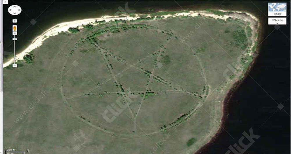 25 عکس هوایی منحصربهفرد در Google Earth