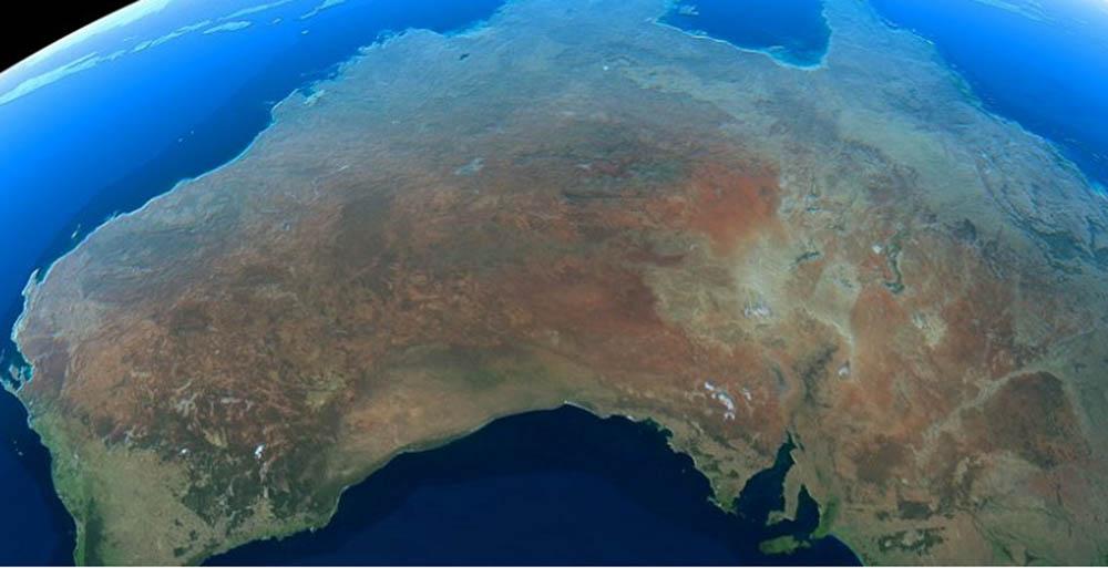 قاره استرالیا همیشه در حال جابجایی است