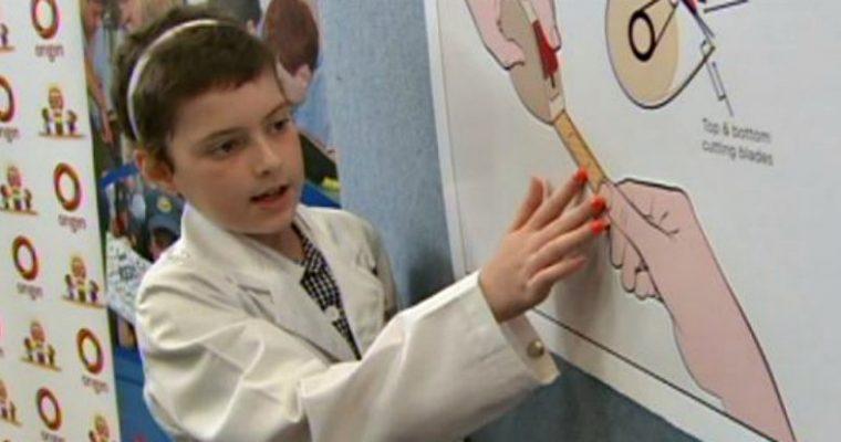 آختراع دختربچه ده ساله او را به ناسا فرستاد